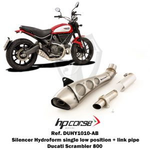 Silencer Hydroform omologated single low position