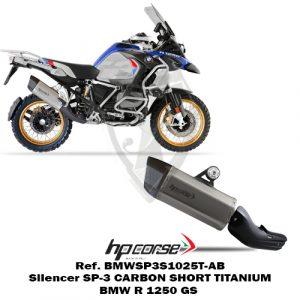 HP CORSE Silencer SP-3 SHORT