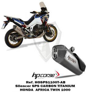 HP CORSE Silencer 4-TRACK R TITANIUM