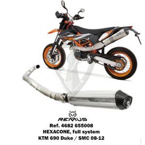 REMUS FULL SYSTEM HEXACONE