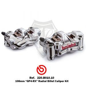 BREMBO GP4-RX 108MM RADIAL BILLET CALIPER