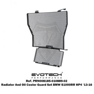 EVOTECH RADIATOR AND OIL COOLER GUARD SET